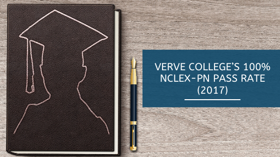 Verve College's 100% NCLEX-PN Pass Rate (2017)